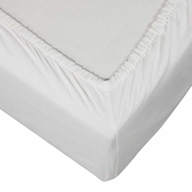 Drap housse confort Blanc