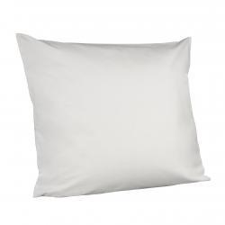 Taie d'oreiller blanche confort