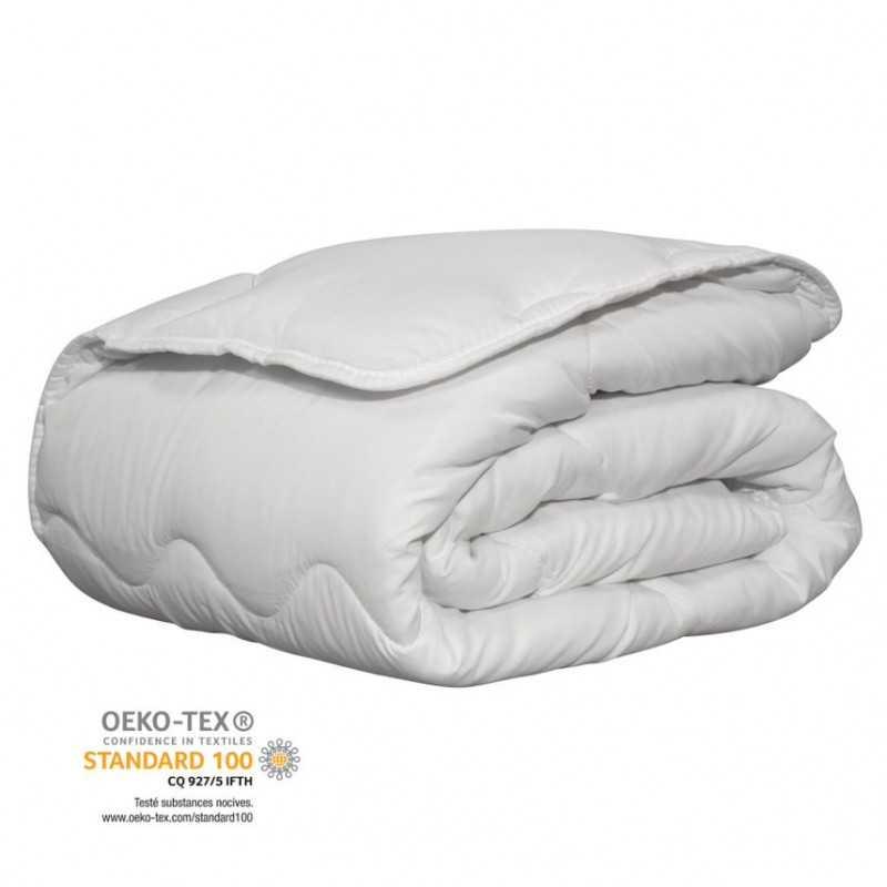 Couette confort blanche certifiée Oeko-Tex®